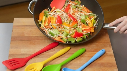Choose The Best Silicone Cooking Utensils Set 🥄